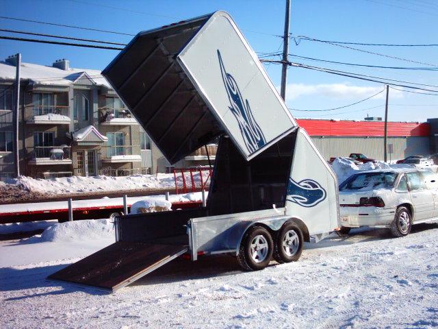 Remorque ski-doo